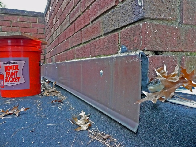 Charming New Copper Counter Flashing On Flat Roof. D. Counter_flashing1