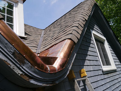 Valley Flashing Two Valleys Run Together Roofing How To